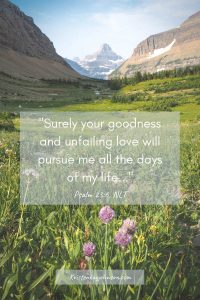 goodness, love, rest, renewal