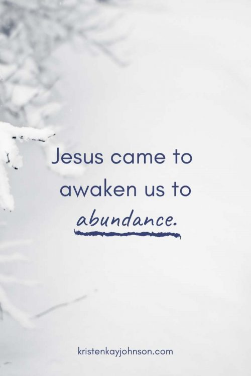 The Abundant Promise of Jesus