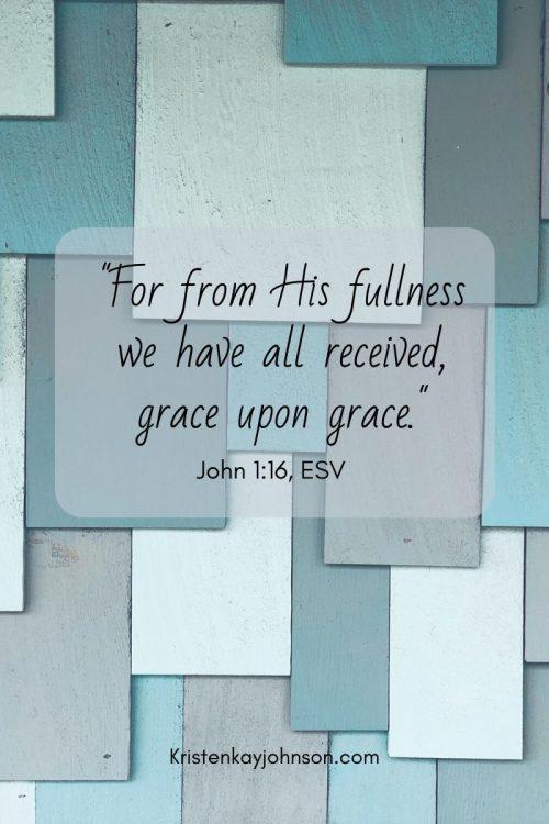 Receive Grace. Live Grace. Show Grace.