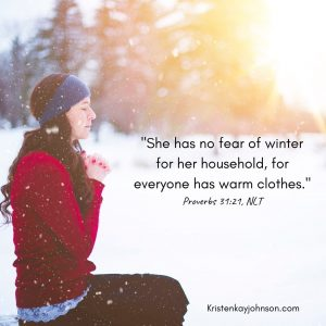 winter, proverbs 31, seasons
