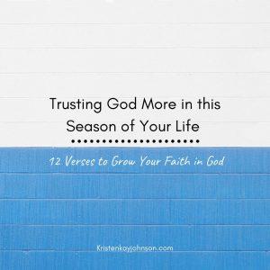 trust God, faith, faithful