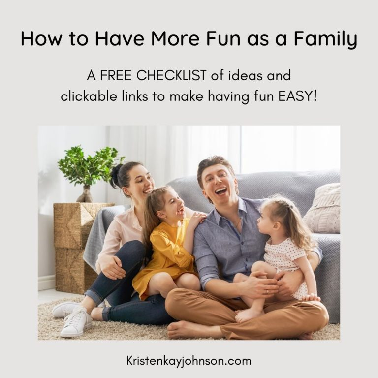 have more fun, family