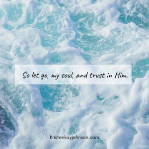 let go, peace, surrender, trust