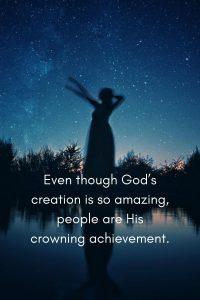 creation, god loves people