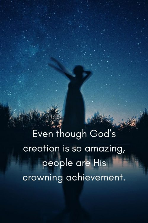 You: The Crown of God's Creation