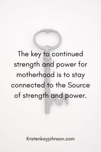 power and strength