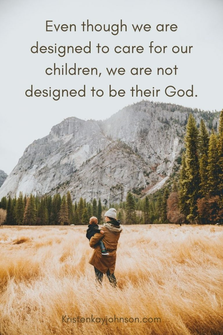 Trusting God with our Kids
