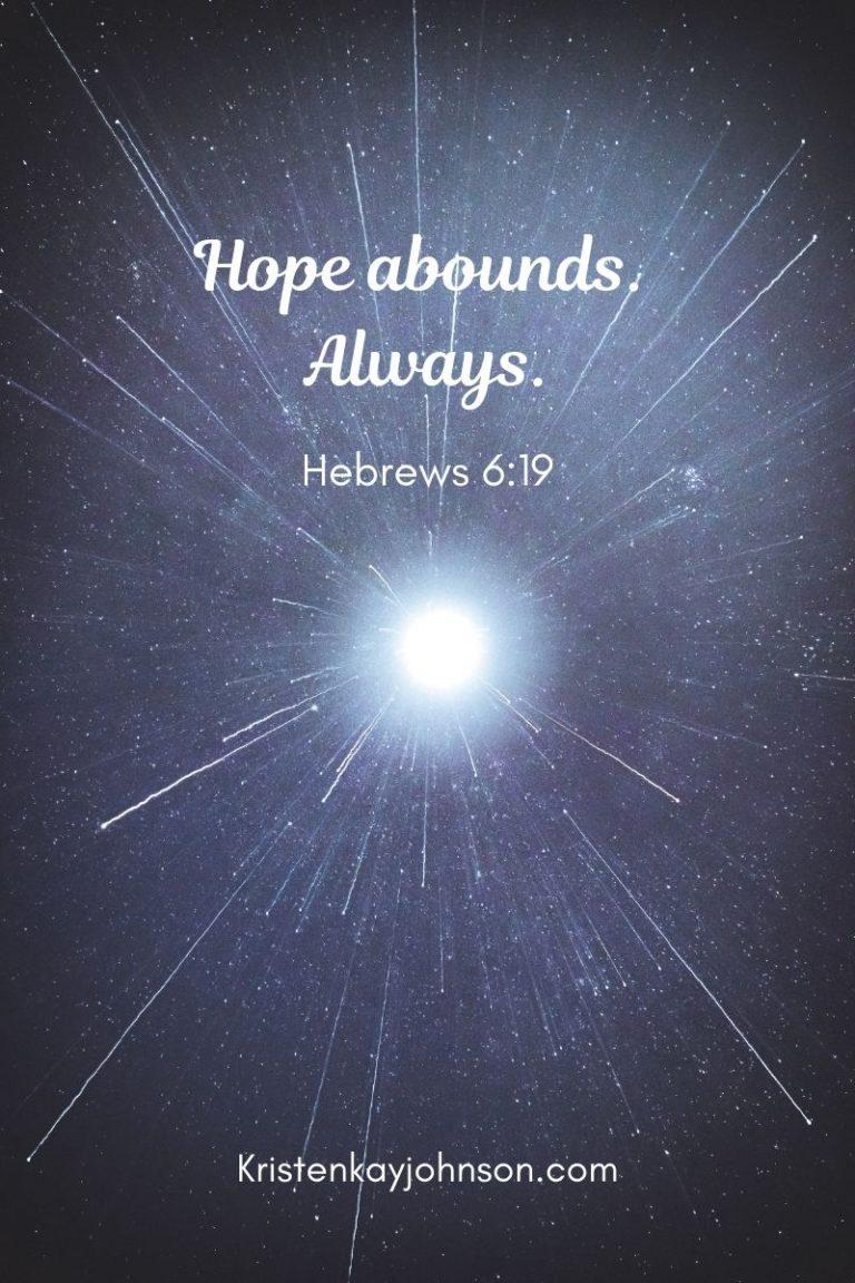 hope, jesus